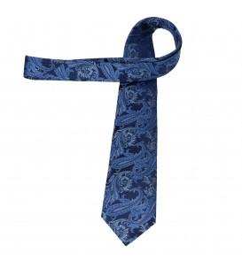 krawat jedwabny paisley berry