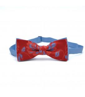 bow tie fiori dipinti