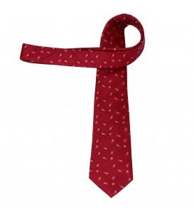 krawat jedwabny red kidney
