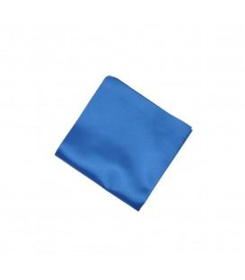 poszetka satynowa niebieska