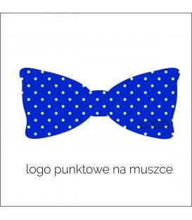 logo punktowe muszka