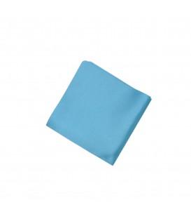 poszetka satynowa błękitna
