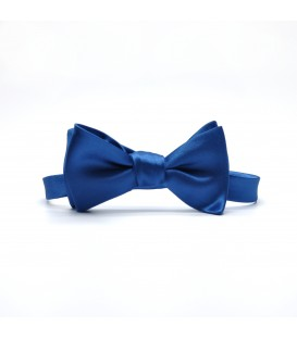 regulated cornflower self-tie bow tie
