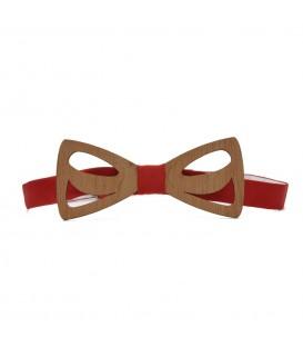 wooden bow tie drops