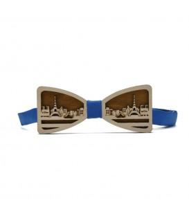 wooden bow tie 3d paris