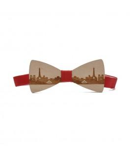 wooden bow tie paris