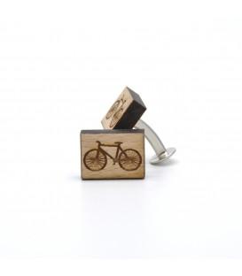 spinka drewniana rower