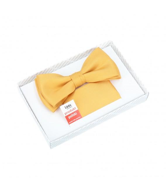 żółta- miodowa muszka męska