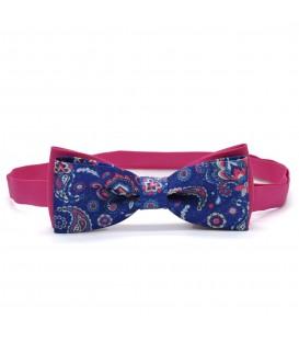 bow tie disegno floreale